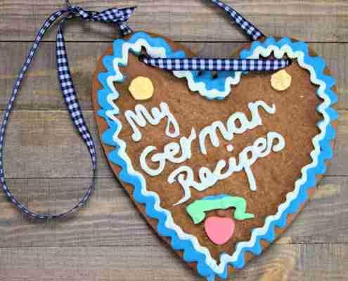 Oktoberfest Gingerbread Hearts Lebkuchenherzen My German Recipes