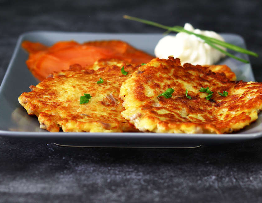 Crisp German Potato Pancakes - Latke ⋆ My German Recipes